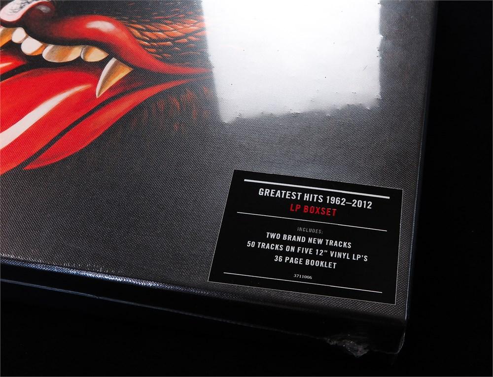 Parlogram Auctions The Rolling Stones Grrr 2012 5 X